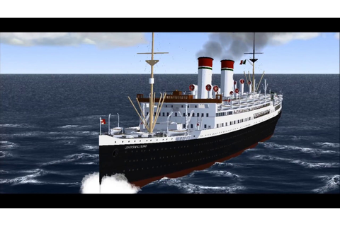 SS Conte Biancamano 1936 Vehicle simulator-Virtual Sailor ...