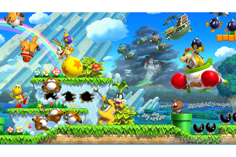New Super Luigi U HD Wallpaper | Background Image ...
