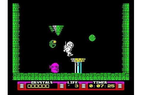 The Arc of Yesod Walkthrough, ZX Spectrum - YouTube