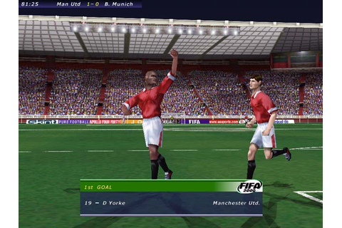 Single link games: FIFA 2000