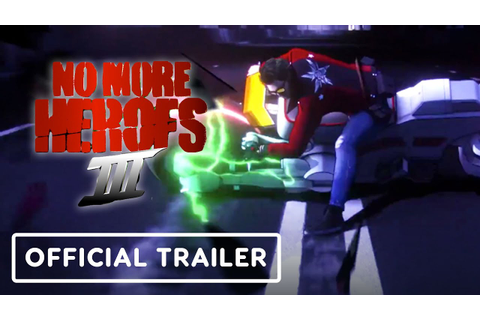 No More Heroes 3 - Official Reveal Trailer | The Game ...