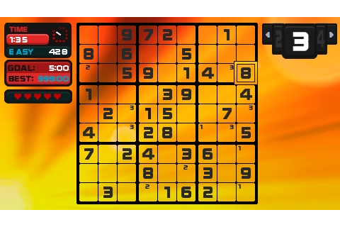 Go Sudoku PSP 12 - Vita Player - the one-stop resource for ...