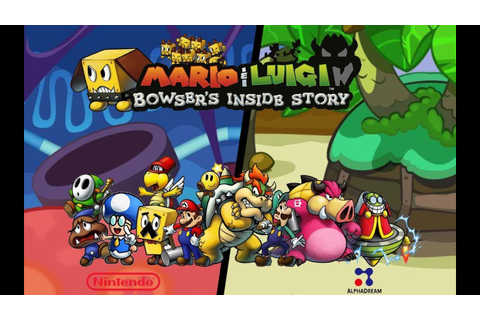 Test Mario & Luigi : Voyage au Centre de Bowser - YouTube