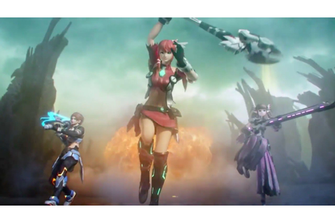 Phantasy Star Nova - Promotion Trailer (Japanese) - YouTube