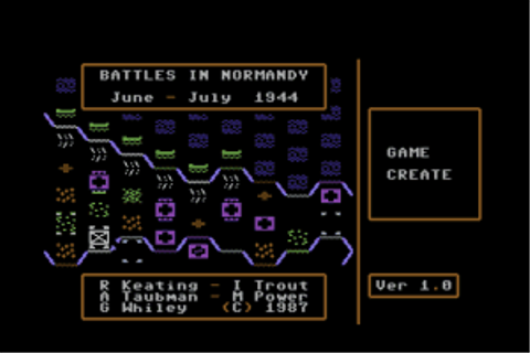 Battles in Normandy on Qwant Games