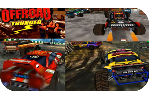 Offroad Thunder - Gameplay Moments Gamecube Arcade HD ...