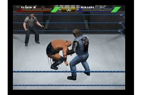 WWE Wrestlemania X8 Gamecube Gameplay-HHH Vs Rikishi - YouTube