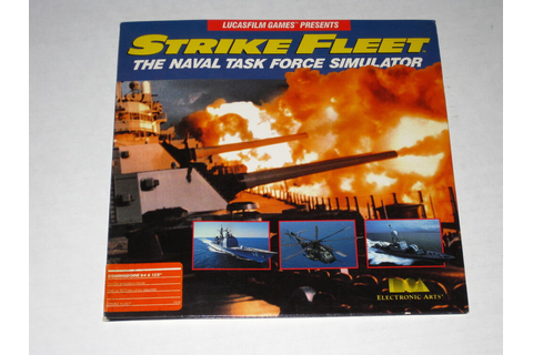 Strike Fleet (Commodore, 1987) 64/128 Rare, Vintage PC ...
