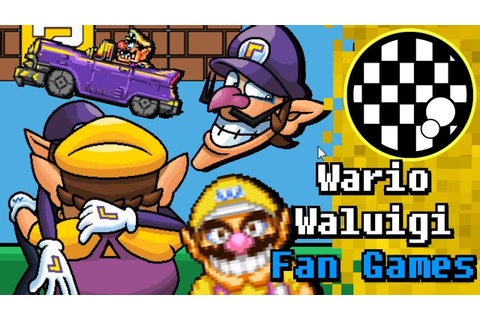 Terrible Wario and Waluigi Fan Game Collection - YouTube