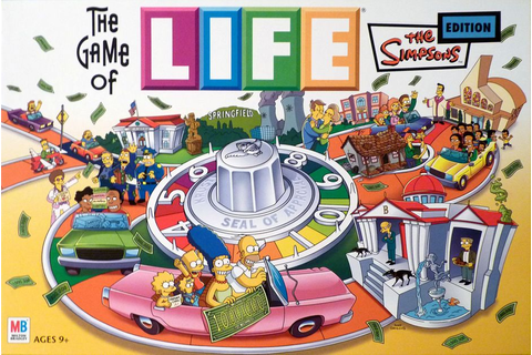The Game of Life: The Simpsons Edition | Board Game ...