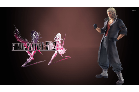 Snow Villiers - Final Fantasy XIII-2 wallpaper - Game ...