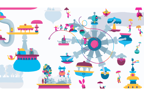 Hohokum PS4 Version Get Astonishing Looking 1080p In-Game ...