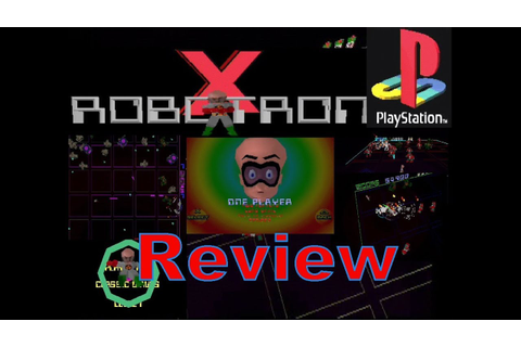 Robotron X (PS1) Underrated Gem Review - YouTube