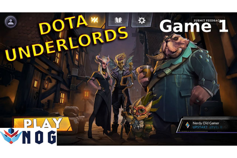 DOTA Underlords - Game 1 - Gameplay, Lets Play - YouTube