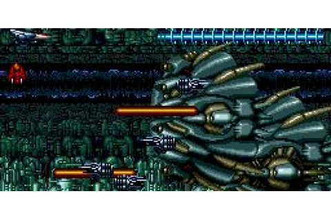 Aldynes | Turbo-Grafx 16 | Aldynes, import, shmup, shooter ...