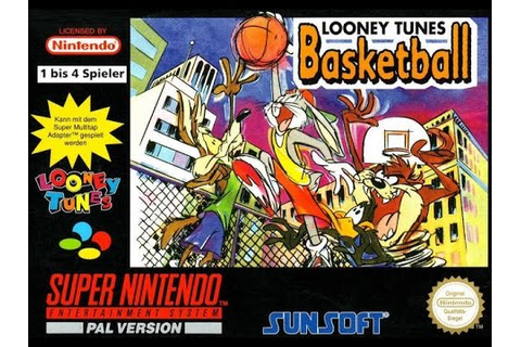 Looney Tunes Basketball SNES 2 Players Gameplay - YouTube