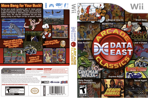 R26E5G - Data East Arcade Classics