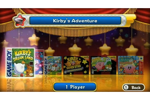 Kirby's Dream Collection: Special Edition (Nintendo Wii ...