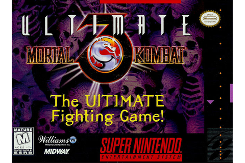 Ultimate Mortal Kombat 3 sur Super Nintendo - jeuxvideo.com