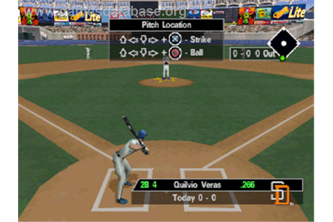 Triple Play 2000 - Sony Playstation - Games Database