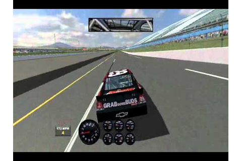 Me playing NASCAR Racing 2003 season (A PC Game by Papyrus ...