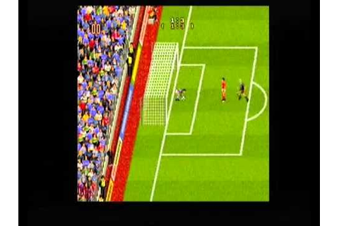 Manchester United Europe Amiga Penalty shoot out - YouTube