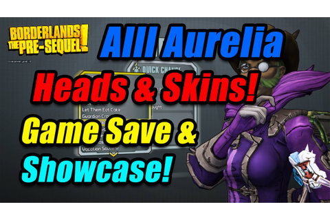 Borderlands: The Pre-Sequel | Alll Aurelia The Baroness ...