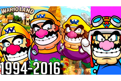 Wario Land - ALL INTROS 1994-2016 (GBA, Gamecube, DS, Wii ...