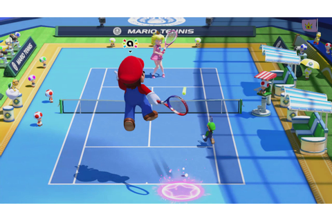 Mario Tennis: Ultra Smash supports online multiplayer ...