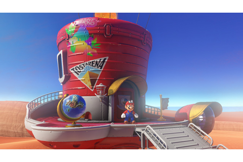Super Mario Odyssey si mostra nel Nintendo Direct - GameSource