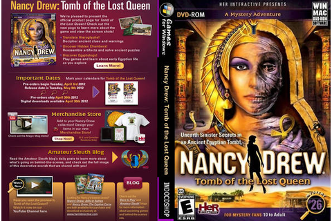 Nancy Drew: Tomb of the Lost Queen Free Full Download ...