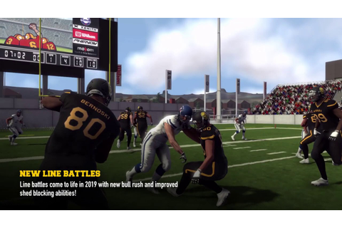 Maximum Football 2019 Game Play Trailer 01 - YouTube