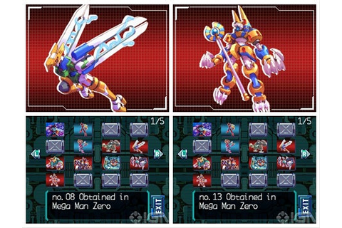 MegaMan Zero Collection (NDS) 2010 | Torrent Games Oficial