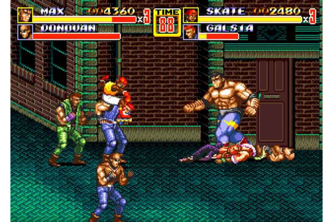 Streets of Rage 4 Revealed As Sequel To Beat 'Em Up Trilogy