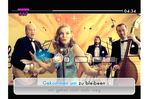We Sing Deutsche Hits 2 › Games-Guide
