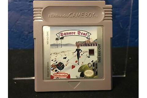 Square Deal Game Boy | eBay
