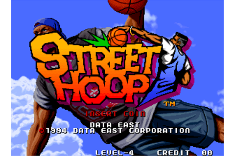Street Hoop - Videogame by Data East