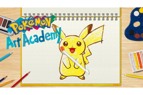 Pokemon Art Academy Dated For 3DS - Attack of the Fanboy