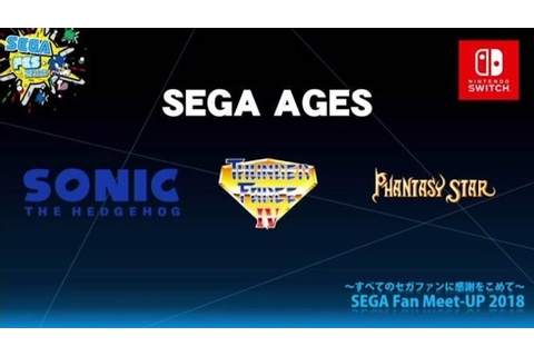Sega Ages For Nintendo Switch Could Expand With Dreamcast ...