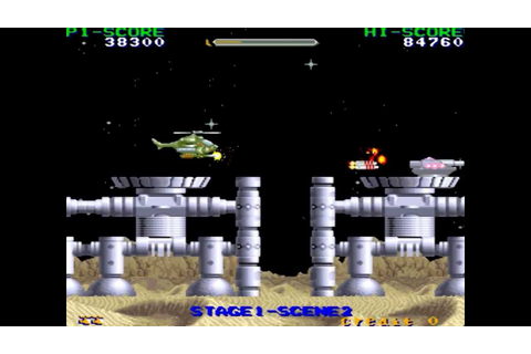 Cobra Command Arcade - YouTube