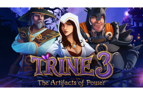 Trine 3 - The Artifacts of Power : Conferindo o Game - YouTube
