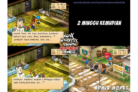 Download Game Harvest Moon Back To Nature Bahasa Indonesia ...