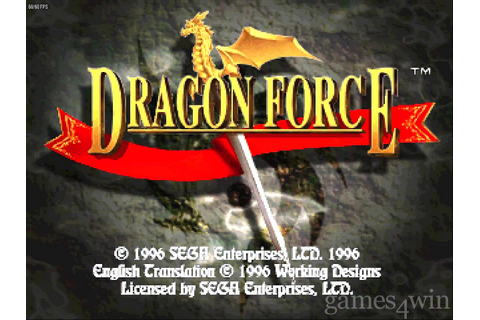 Dragon Force. Download and Play Dragon Force Game - Games4Win