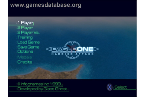 Eagle One: Harrier Attack - Sony Playstation - Games Database