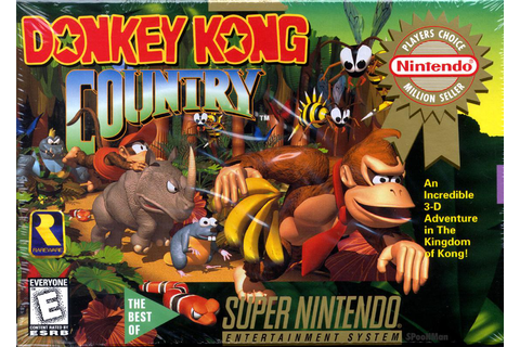 US Nintendo Downloads: The Donkey Kong Country Series ...