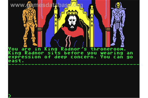 Masters of the Universe: Super Adventure - Commodore 64 ...