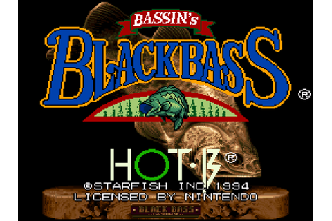 Bassin's Black Bass with Hank Parker Download Game ...