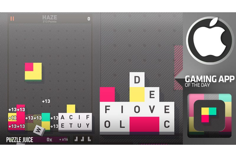 Puzzlejuice Blends Bejeweled, Tetris and Scrabble into an ...