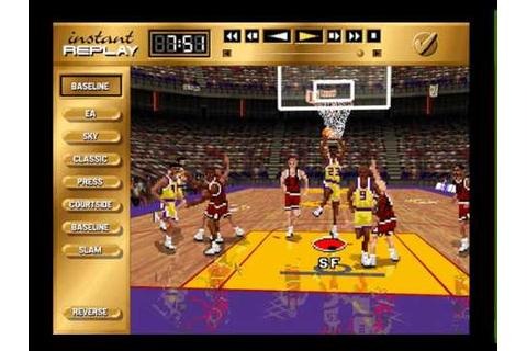 IE 23 PC games review - NBA Live 96 (1996) - YouTube