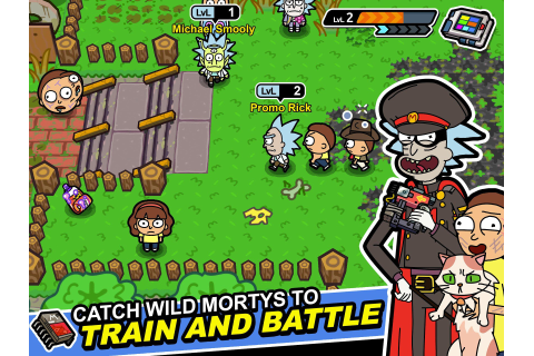 Pocket Mortys – Games for Android – Free download. Pocket ...